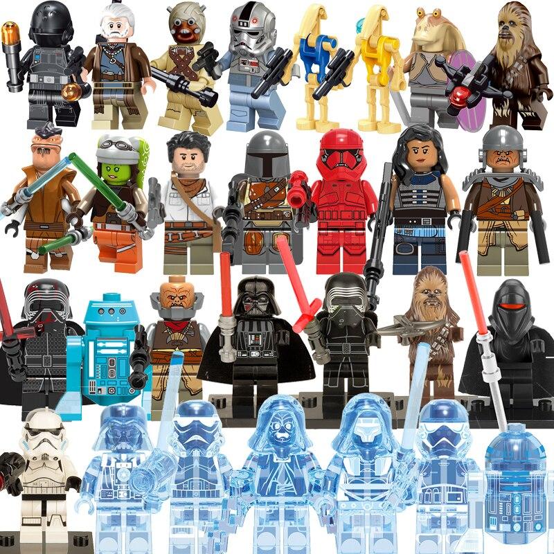 mini-star-wars-figurines-legoinglys-font-b-starwars-b-font-han-solo-yoda-sith-seigneur-dark-vador-maul-revan-dooku-blocs-de-construction-briques-enfant-jouets