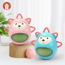 Baby Tumbler Toys 0 12 Months Newborns Bathing Soft Toy For Toddler Boy Girl Infant Rattles Teether Montessori Musical Teeth