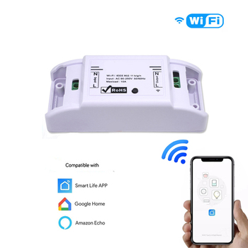 Smart Life Wireless Remote Switch Smart Switch APP Control Automation Module Smart House For Amazon Alexa Compatible Google Home mesmart simple smart home automation system controller hub zigbee wireless control app notification compatible with amazon alexa