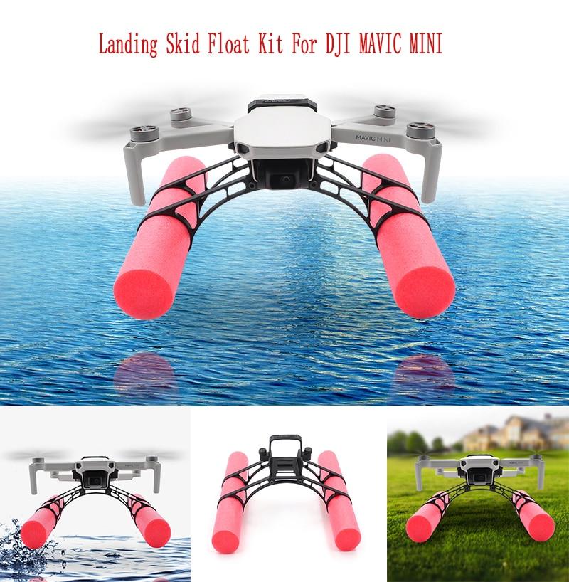 DJI Mavic Mini Landing Skid Float Kit For Mavic Mini Landing Gear Training Gear Accessories Landing On Water