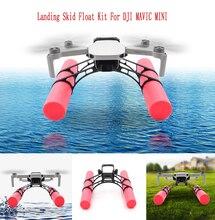 DJI Mavic Mini Landing Skid Float Kit For Mavic Mini Landing Gear Training Gear Accessories Landing On Water 2pcs tall landing skid extended landing gear