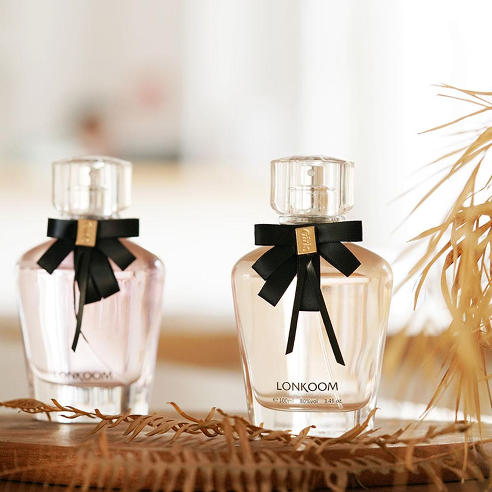 LONKOOM Perfume Eau De Parfum Floral-fruity Scent Lady's Perfume Spray Perfume Fragrance For Women GIRLS 100ml