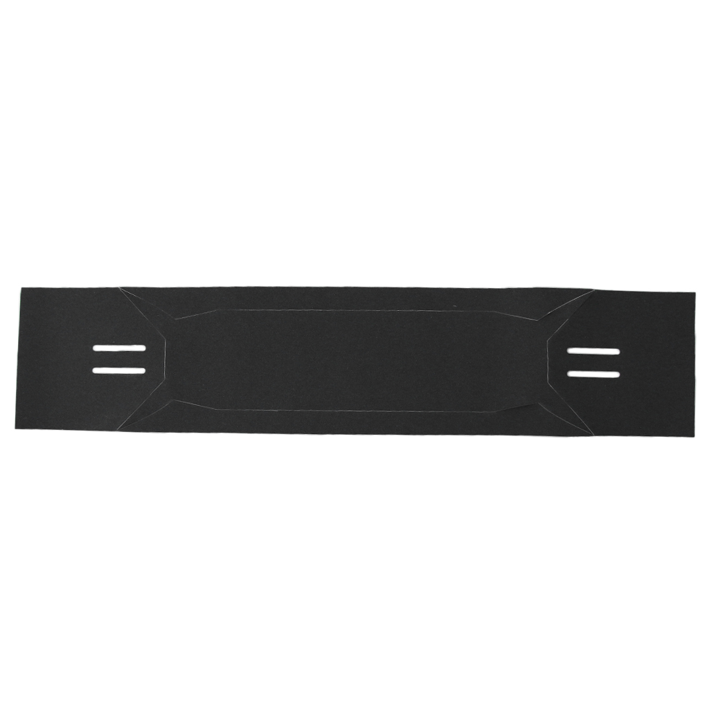 Longboard Grip Tape, Skateboard Griptape, Super Sticky Sandpaper Sheet Black 47x10inch