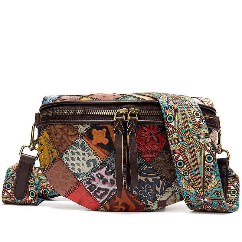Женская сумка через плечо на молнии, сумка через плечо, Ретро стиль, женская сумка для путешествий, натуральная кожа, Повседневная сумка, 2019