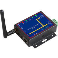 HFES Rs232 Rs485 Rs422 To Ethernet Converter Removable Interface Multi Port Conversion Serial Device Server