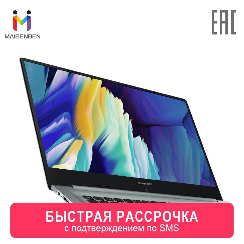 """Laptop MAIBENBEN Xiaomai 6C 15.6 """"FHD Intel 4205U/4 GB/128 GB SSD + 1 TB HDD /DOS 0-0-12"""