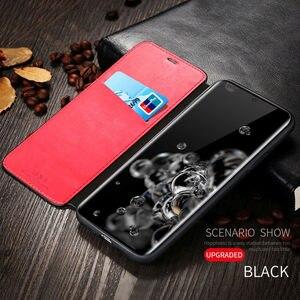 Image 2 - กระเป๋าสตางค์โทรศัพท์มือถือสำหรับSamsung Galaxy S20 Ultra S9 Plus S10 S10E Matteการ์ดสล็อตFlipหนังCove S8 s7 Edgeหมายเหตุ9 Coque