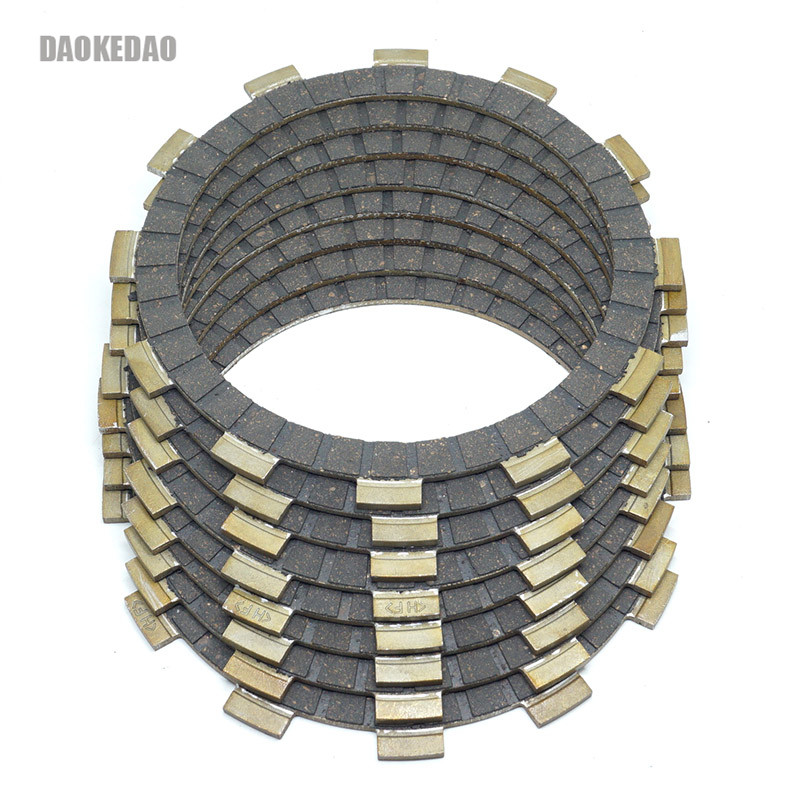 Motorcycle Clutch Friction Disc Plates Set For Suzuki Bandit 600 GSF600 GSF600S Katana GSX600F GSXR750 RM465 RM500