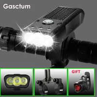 20000 Lums Bicycle Light L2/T6 USB Rechargeable 5200mAh Bike Light Waterproof LED Headlight Power Bank Bike Accessories