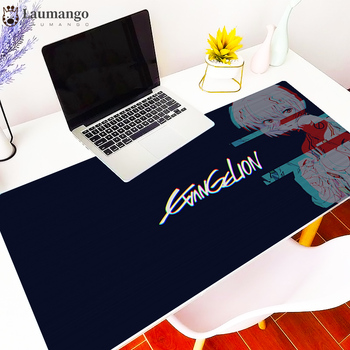 Mouse Pad Evangelion Anime Neon Genesis MousePad Game Mode Available Computer  Keyboard Desk Mat