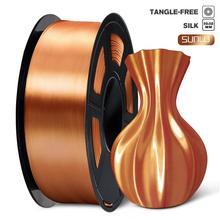 PLA Filament 1kg Silk Texture 1.75mm Red Copper High Toughness Eco-friendly FDM 3D Printer Printing Material Tolerance 0.02mm