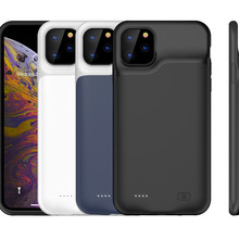 Slim Silicone shockproof Battery Charger Cases for iPhone 11 Pro Max Power Bank