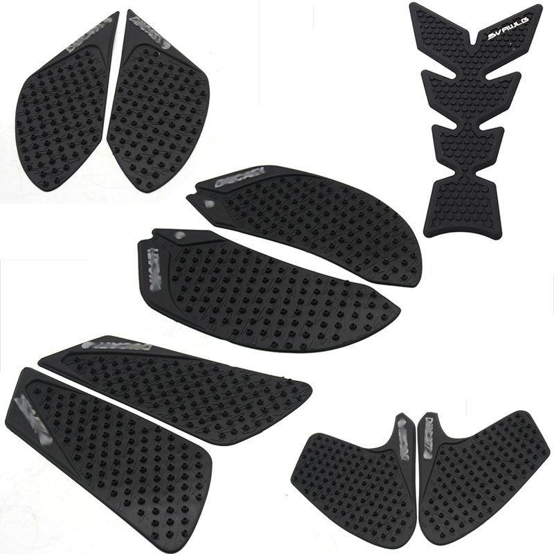 Motorcycle Tank Traction Side Pad Gas Fuel Knee Grip Decal For DUCATI DIAVEL 1200 2012-2016