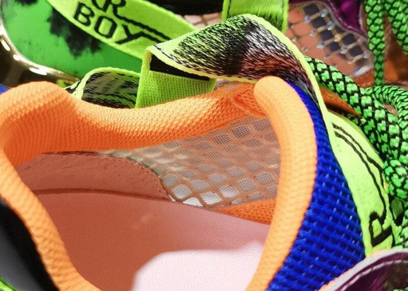 aumentada sapatos hip-hop sapatos