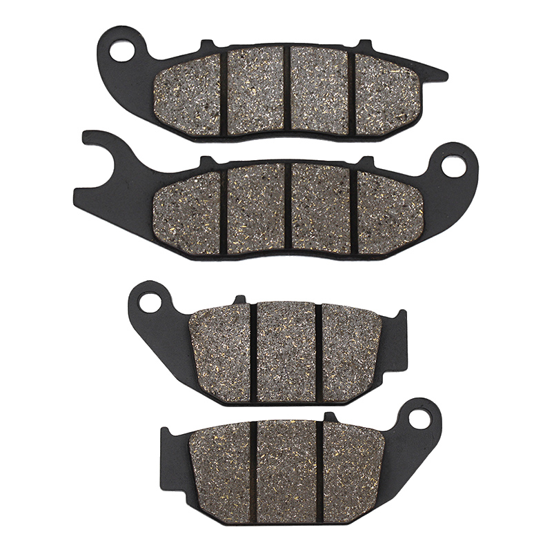 Cyleto Motorcycle Front and Rear Brake Pads set kit for Honda CRF250L <font><b>CRF</b></font> 250L CRF250M <font><b>2012</b></font> 2013 2014 2015 2016 2017 2018 2019 image