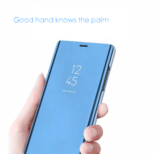 Image 4 - 스마트 미러 삼성 갤럭시 S10 라이트 S9 S8 S7 가장자리 A8 A9 A7 A5 A6 플러스 2018 A10 A20 A30 A40 A50 A80 A90 A70 커버