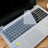 14 polegada/15.6 polegada silicone caso portátil teclado universal filme telha teclado película protetora