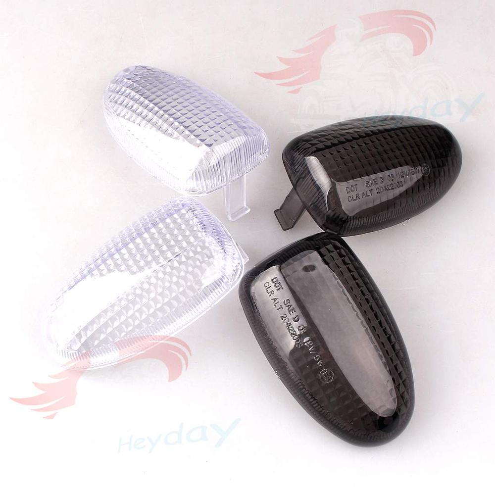 E-Marked Rear Turn Signals Lens Blinker Indicators For BMW K1200RS 97-04, R850R, R1100R, R1100S,R1150R.R1150GS,R1200C image