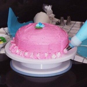 Image 5 - 106 個多機能ケーキデコレーションセットケーキターンテーブルキットペストリーチューブフォンダン diy ツールキッチンデザートツール用品