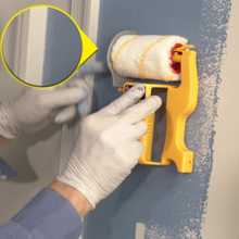 Clean-Cut Paint Edger Roller Brush Safe Tool Portable for Home Room Wall Ceilings DIN889