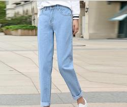 Новые черные и белые джинсы женские летние свободные брюки em8 тонкие женские HG623-02-14