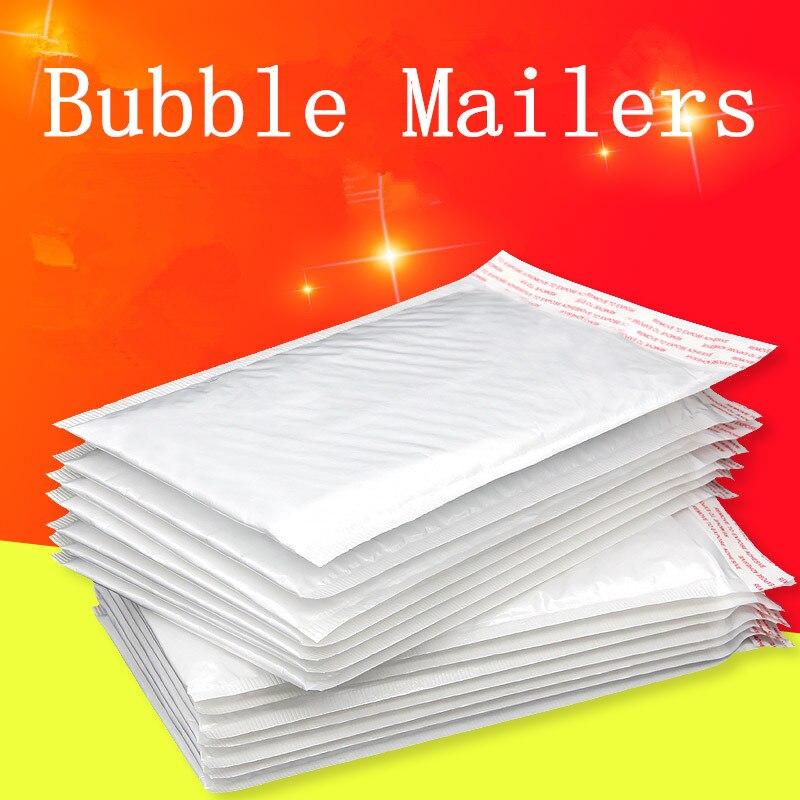 110*130mm 5pcs/lots Bubble Mailers Padded Envelopes Bags Kraft Bubble Mailing Envelope Bags Packaging Shipping  Bubble Mailer