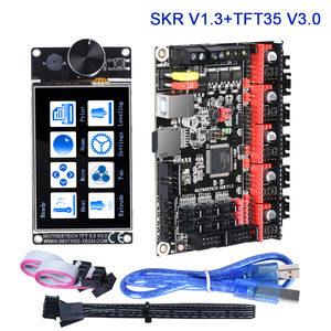 Image 1 - BIGTREETECH SKR V1.3 Controller TFT35 V3.0 Touch Screen + TMC2209 TMC2208 UART Driver 3D Printer Board Kits MKS GEN L TMC5160