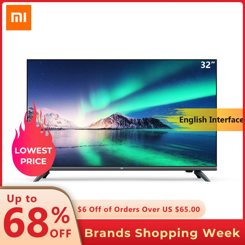 Xiaomi TV Game Television Smart-Tv Full-Screen HDMI 32inch E32A WIFI with DTS 1g-Ram