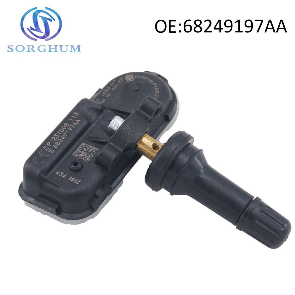 68249197AA 68157568AA TPMS Tire Pressure Sensors Fits For 2014-17 Dodge Ram 1500 2500 3500
