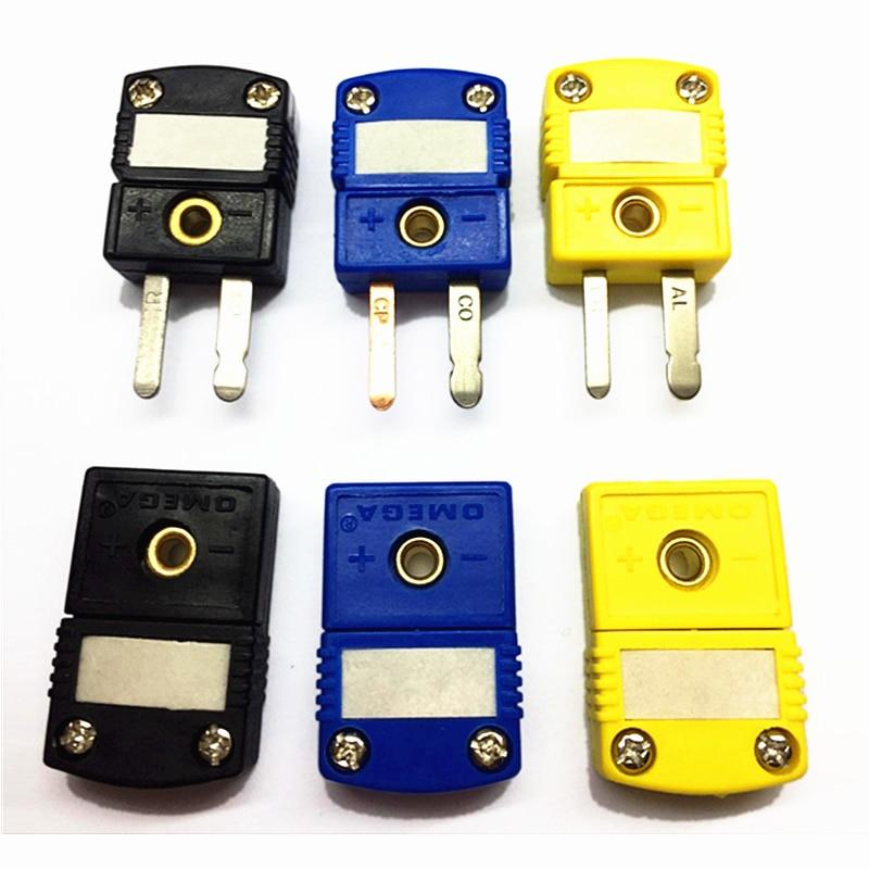 K/T/J Type Thermocouple Miniature Socket Plug Connector Thermocouple Plugs And Sockets Sensor US Type