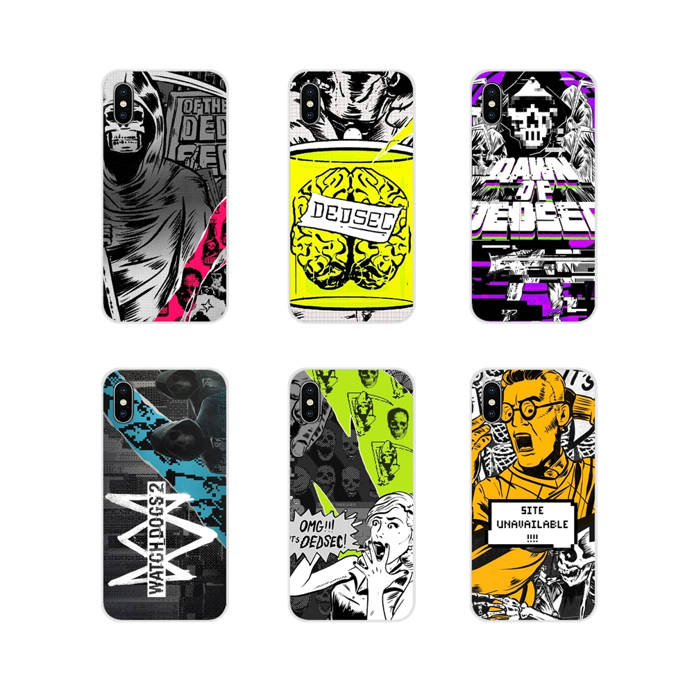 Accessories Phone Shell Covers Watch <font><b>Dogs</b></font> 2 Dedsec For Oneplus 3T 5T 6T <font><b>Nokia</b></font> 2 <font><b>3</b></font> 5 6 8 9 230 3310 2.1 <font><b>3</b></font>.1 5.1 7 Plus 2017 2018 image