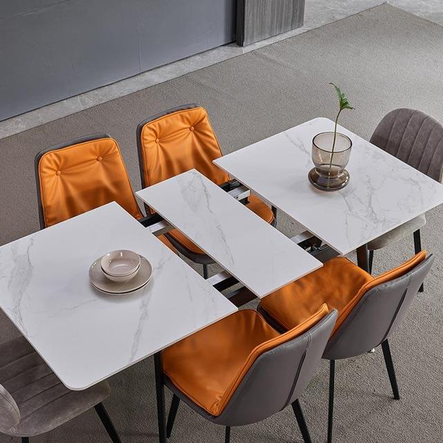 Retractable Marble Multifunctional Dining Table  1