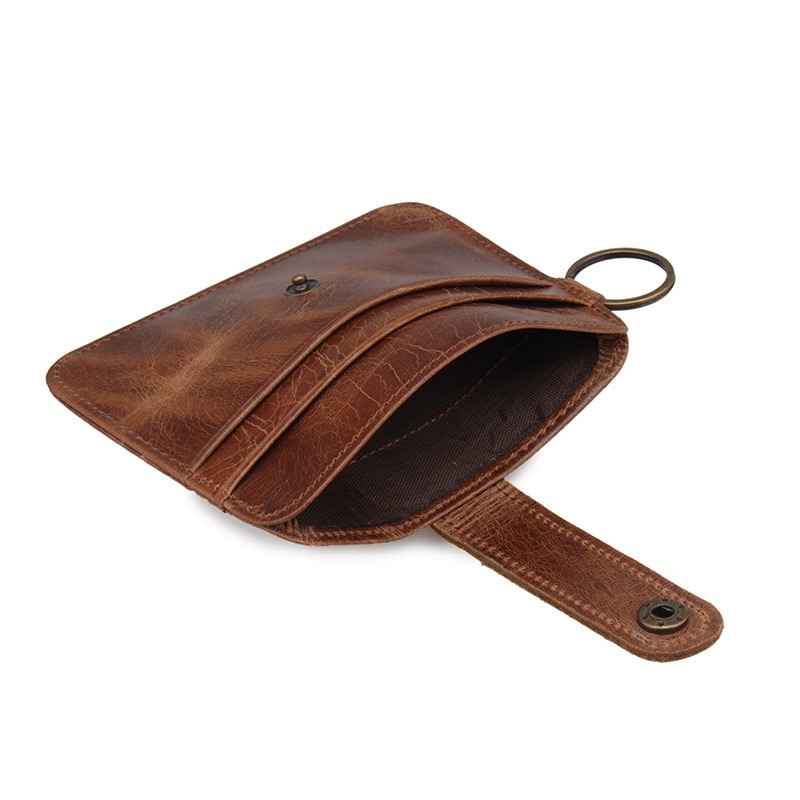 Top Layer Cowhide Ultra-thin Card Holder
