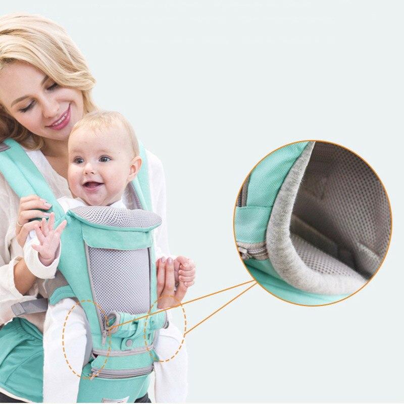 Porte-bébé multifonction fronde avant enfant Wrap tabouret transporteur de voyage M09