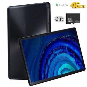 Бесплатный подарок 32 Гб HC TF карта 4G LTE S119 10,1 дюймов 2.5D планшетный ПК Octa Core 3G B RAM 32 Гб ROM Android 7,0 WiFi 3G 4G LTE IPS MT6753