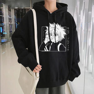 Hxh Hoodies Sweatshirts Streetwear Japanese Anime Funny Killua Eyes Hunter-X-Hunter Winter
