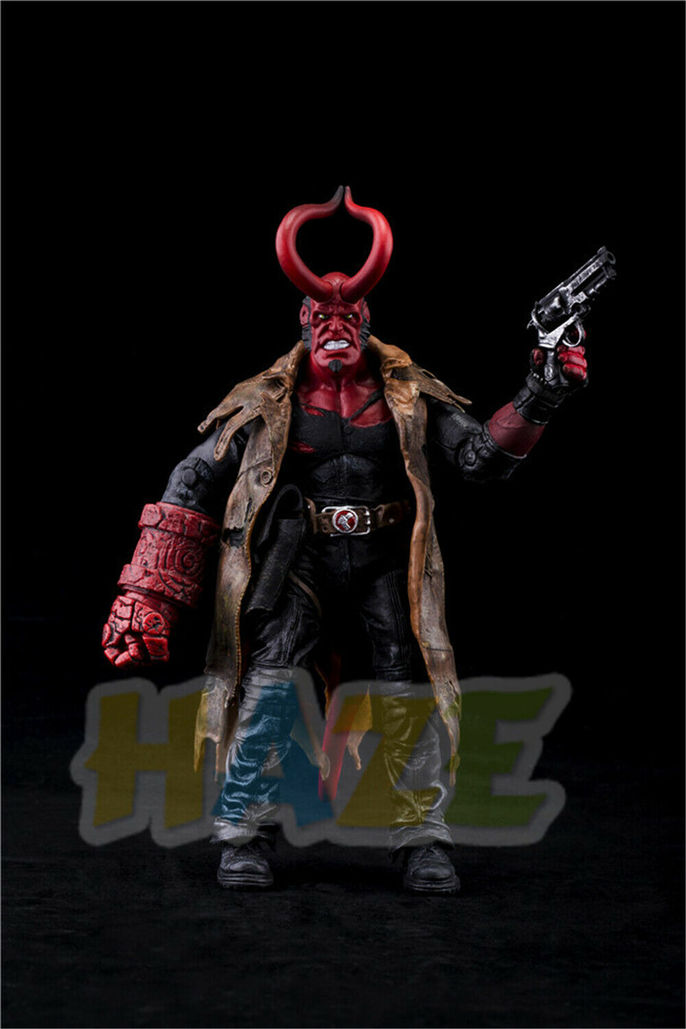 Movie Hellboy Version PVC Action Figure Model Statue Toys Collection 18cm In Box