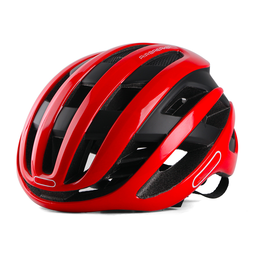 Red Aero Cycling Helmet Racing Road Bike Aerodynamics Helmet Men Cyclist Sports Bicycle Helmet Timetrial Casco Ciclismo 2019