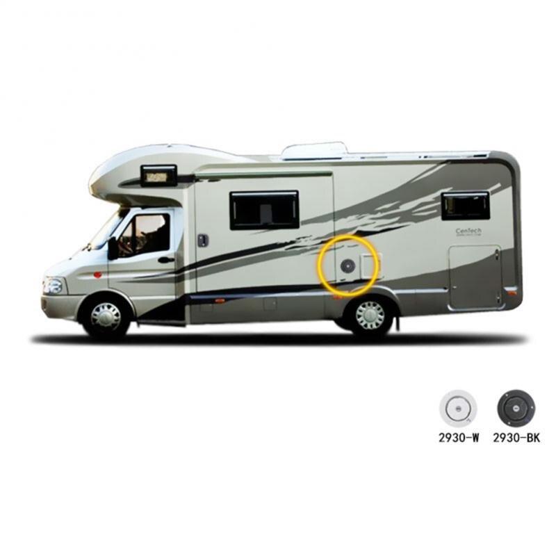 RV accessories Caravan gravity water inlet with lock water inlet car water cover Hatch Inlet Camper Trailer+2 Keys Motorhomes(China)