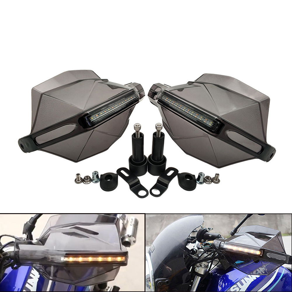 Universal Motorcycle Handguard Signal Light Handle <font><b>Protector</b></font> Guard For <font><b>Yamaha</b></font> <font><b>WR</b></font> 250X 450 SEROW 225 <font><b>250</b></font> TTR 125 <font><b>250</b></font> 600 DT230 image