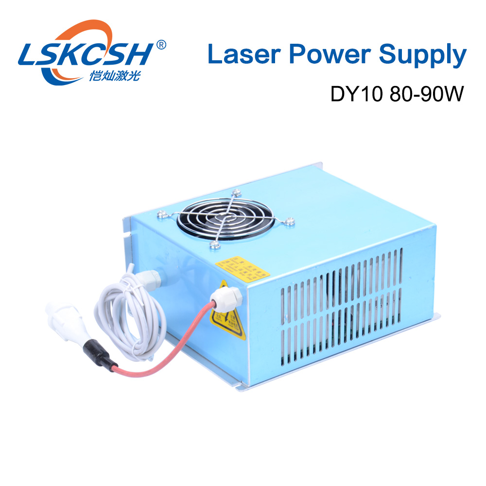 LSKCSH DY10 Co2 Laser Power Supply For Reci W1/Z1/S1/W2/S2/Z2 Co2 Laser tube Engraving Cutting Machine DY Series 80W 90W