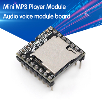 Mini MP3 Player Module TF Card U Disk Audio Voice Board For Arduino DF Play Wholesale