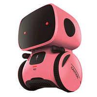 2020 Neue Spielzeug Rosa Roboter Intelligente Roboter Spielzeug Dance Singen Wiederholen Recorder Touch Control Voice Control Geschenk Spielzeug für Kinder age3 +