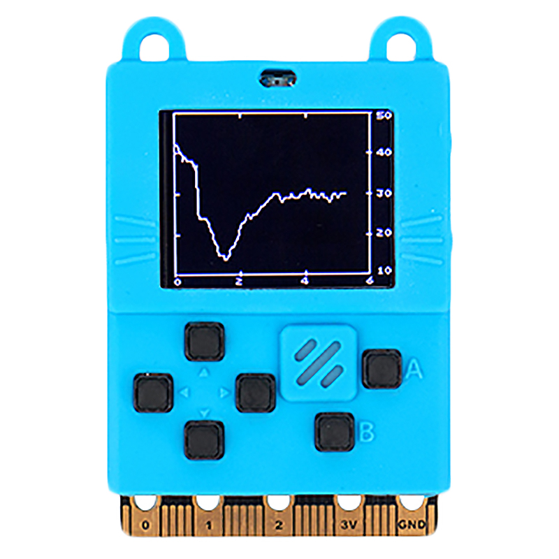 Development Board Compatible With Micro:Bit Graphical Scratch3 Programming Python(Blue)