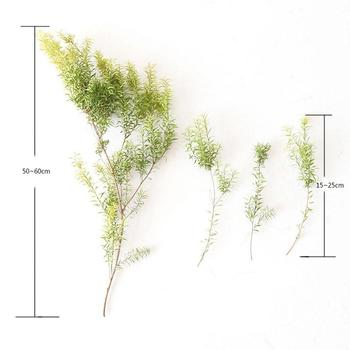 Everlasting grass Melaleuca golden dried flower bouquet natural home decoration room decoration image