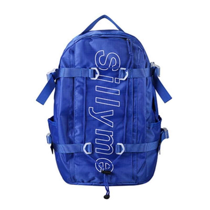 2019 Street Beat Students Wind Boys&girls Tooling Fashion Brand Harajuku College Wind Bulk Oxford Waterproof Backpack Laptop Bag