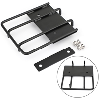 Artudatech Front Upper Headlight Luggage Rack Carrier Fit for Honda Cross Cub 110 2018 2019 Motorcycle Accessories Parts