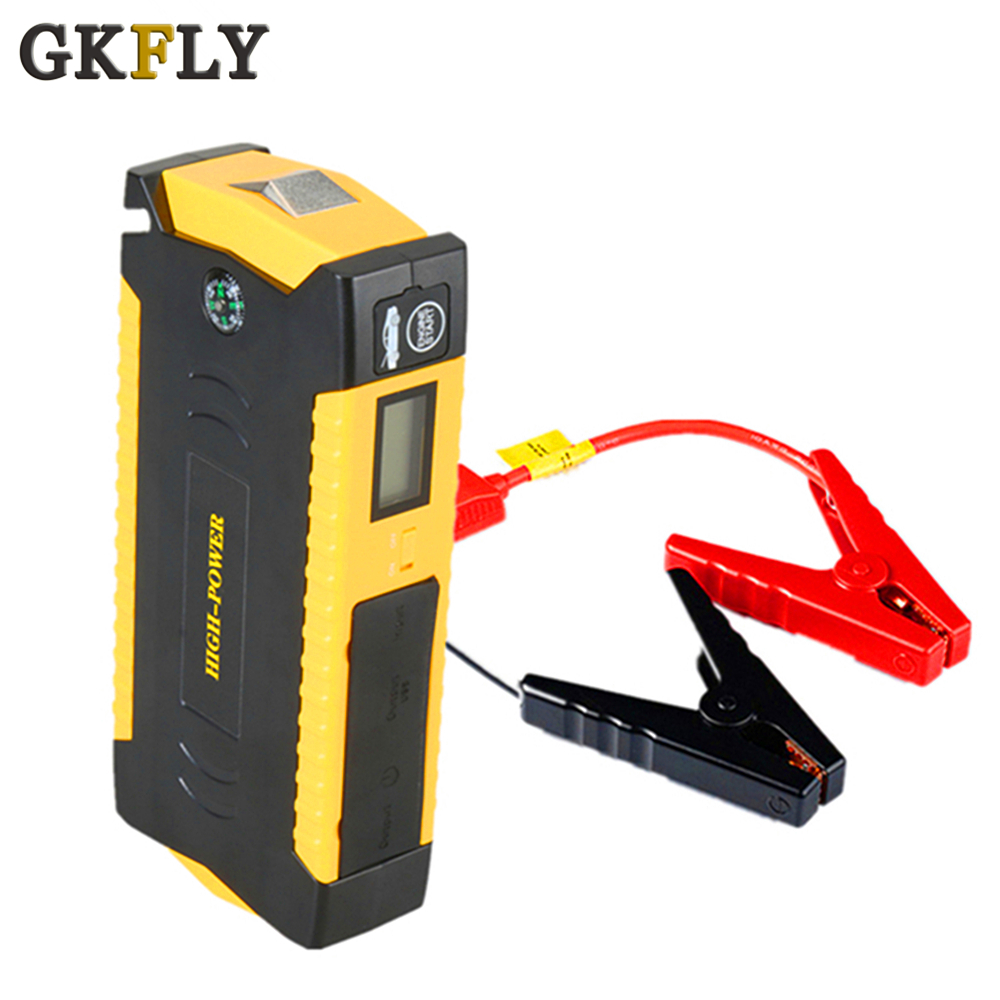 GKFLY New Jump Starter Portable Power Bank 12V Emergency Car Boosting Charger 600A Peak Car Battery Booster Starting Device|Jump Starter| |  - title=