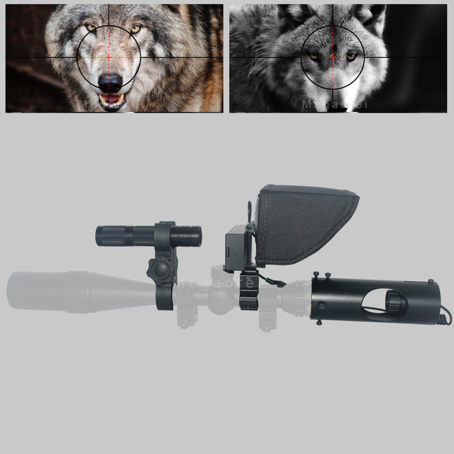 2020 Hot Selling Upgrade Outdoor Hunting Optics Sight Tactical digital Infrared night vision riflescope