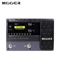 MOOER GE150 pedał gitary Multi Effects procesor Looper (80 s) cyfrowy w kształcie tuby AMP 9 typów efektów 55 Amp modele akcesoria gitarowe